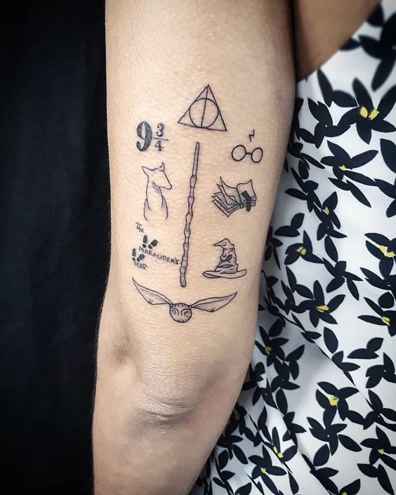 Tatuagens do Harry Potter (4)